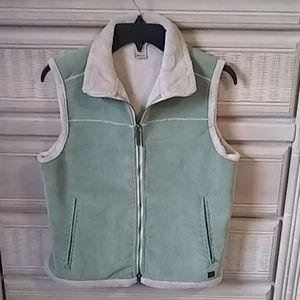 Woolrich corduroy vest women's size small